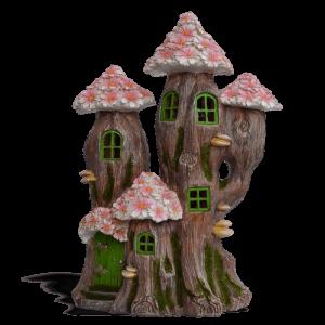 Blossom Tree Fairy House – Solar