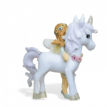 unicorn with green fairy_back