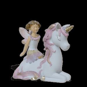 Fairy Beatrice with Unicorn