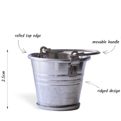 metal bucket details