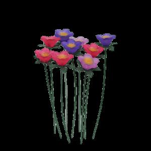Daisies – Pink/Purple