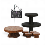Collectors edition themed set includes beautiful furniture and plaque