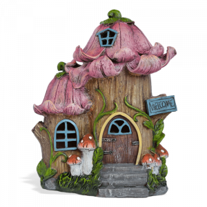 Persnickety Petals Fairy House – Solar