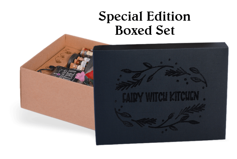 Limited edition collectors set featuring beautifully embossed lid by Fairy Gardening Australia