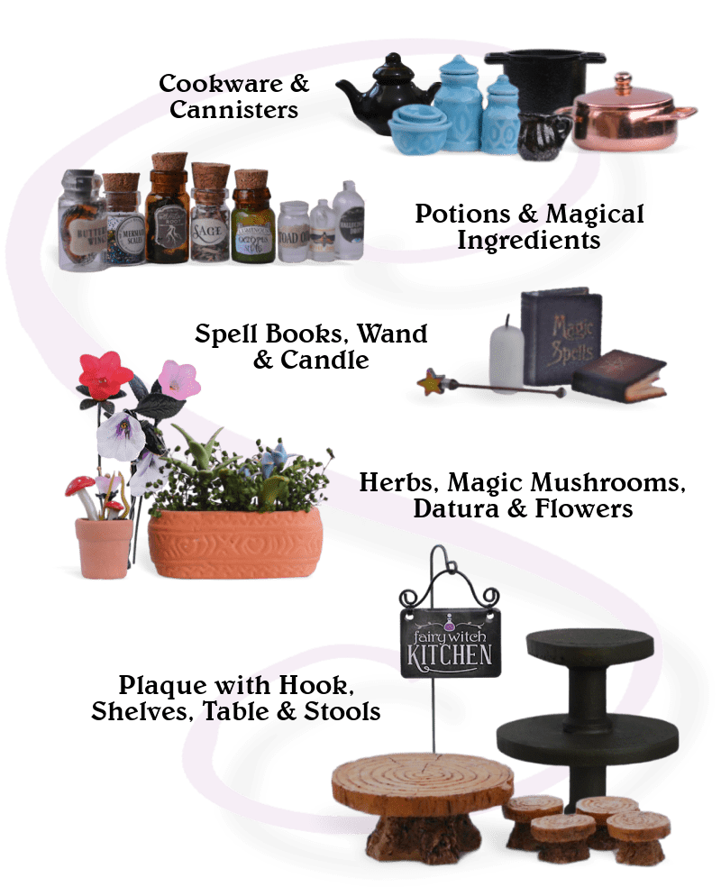 Item details from our Fairy Witch Kitchen Special Collectors Edition
