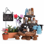 Fairy Witch Kitchen Miniature Set, Limited Edition
