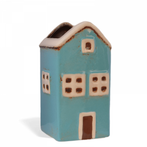 Fairy House Wall Planter – Large Blue