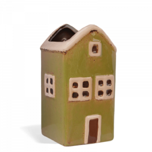 Fairy House Wall Planter – Large Green