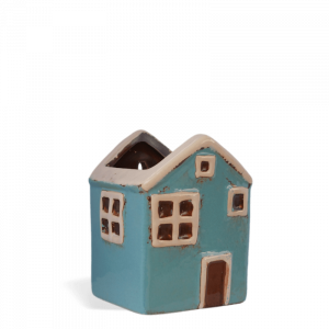 Fairy House Wall Planter – Small Blue