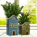 Fairy House Wall Planters