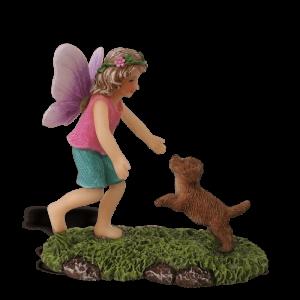 Fairy Katja and Puppy