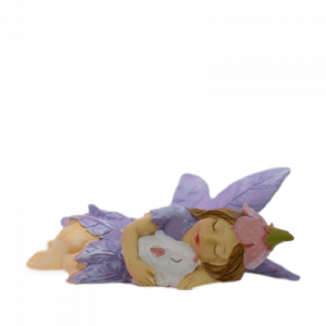 Fairy Louise and Bunny (Purple)