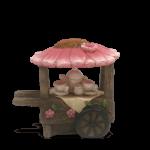 Flower Tea Cart