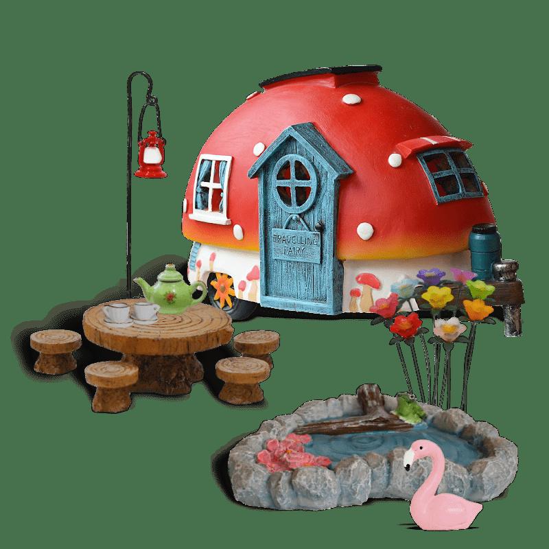 Magical Weekends Fairy Garden Kit