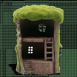 Mossy Tree House