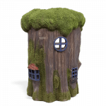Mossy Tree House_back view
