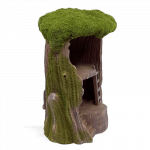 Mossy Tree House_side view