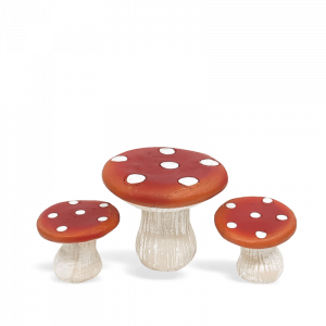 Mushroom Dining Set