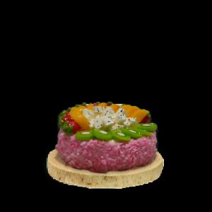 Fruit Topped Sponge Cake