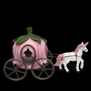 Unicorn-Drawn Carriage
