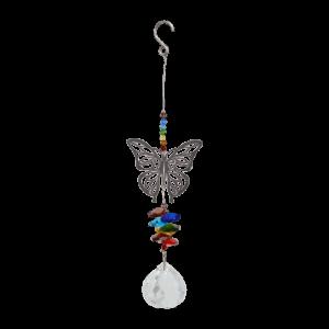 Butterfly Crystal Suncatcher