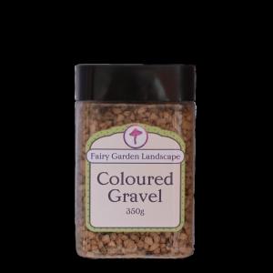 Coloured Gravel – Golden Earth 350g