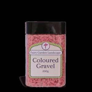 Coloured Gravel – Pink 350g