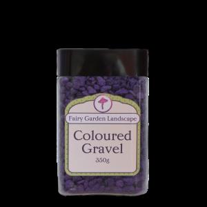 Coloured Gravel – Purple 350g