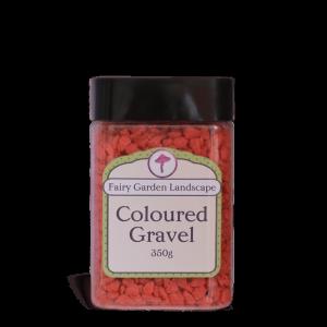 Coloured Gravel – Red 350g