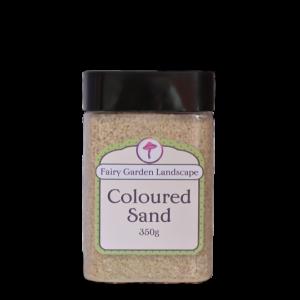 Coloured Sand – Golden White 350g
