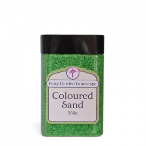 Coloured Sand – Green 350g