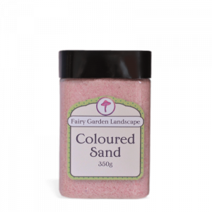 Coloured Sand – Pink 350g