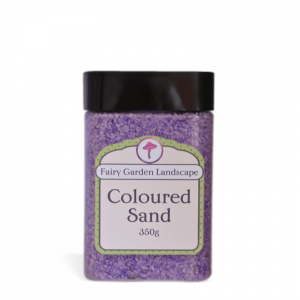 Coloured Sand – Purple 350g
