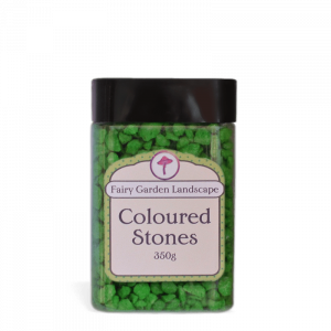 Coloured Stones – Green 350g