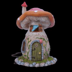Red Mushroom Fairy House