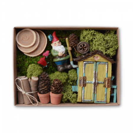 Gardening Gnome Kit in a Box