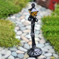 fiddlehead lamp post