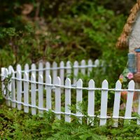 picket fence for fairy gardens